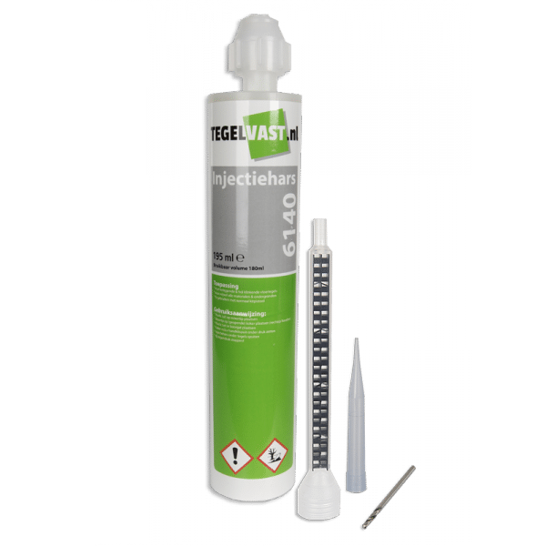 Tegelvast 6140 injectiehars voor losse of holklinkende tegels