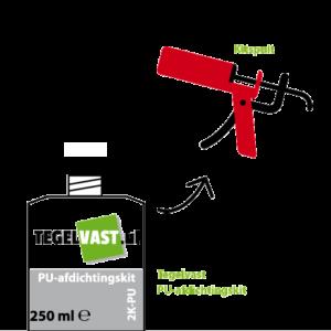 Carrofix applicatie 2k-pu stap 2